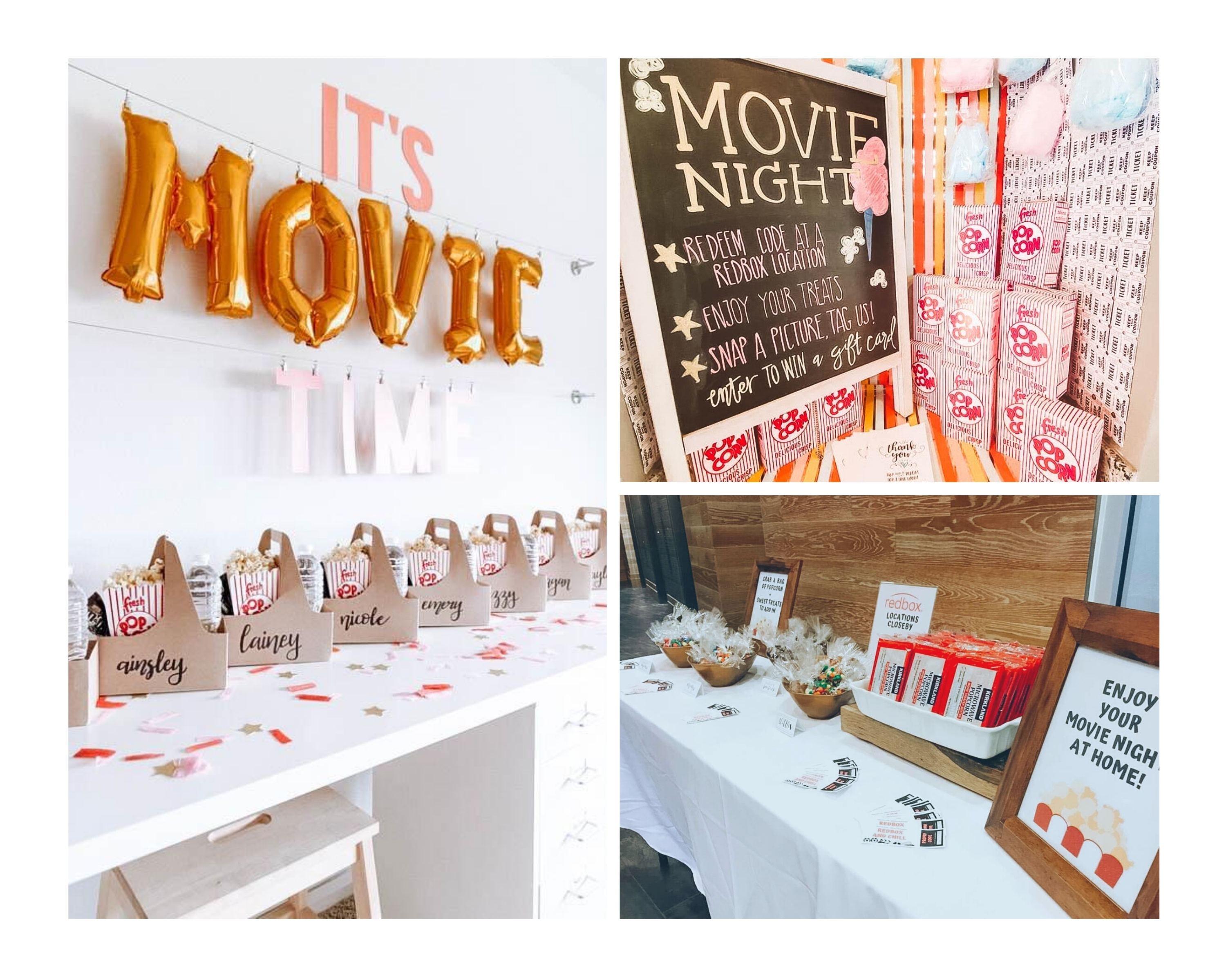 ADAPTABLE EVENTS | MOVIE NIGHT IN THE YEAR OF COVID - image collage 1