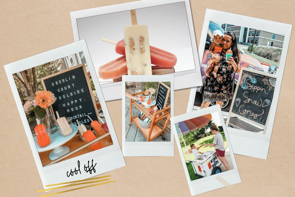 Beige Realistic Fashion Moodboard Photo Collage