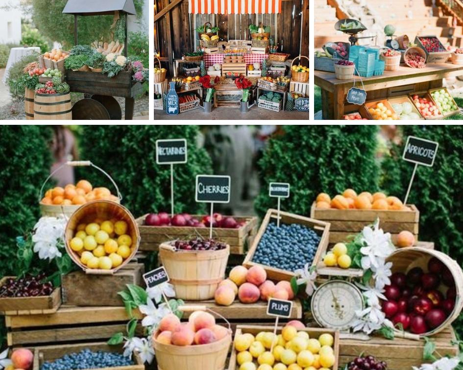 Spring Farmer's Market Fruit and Veggies