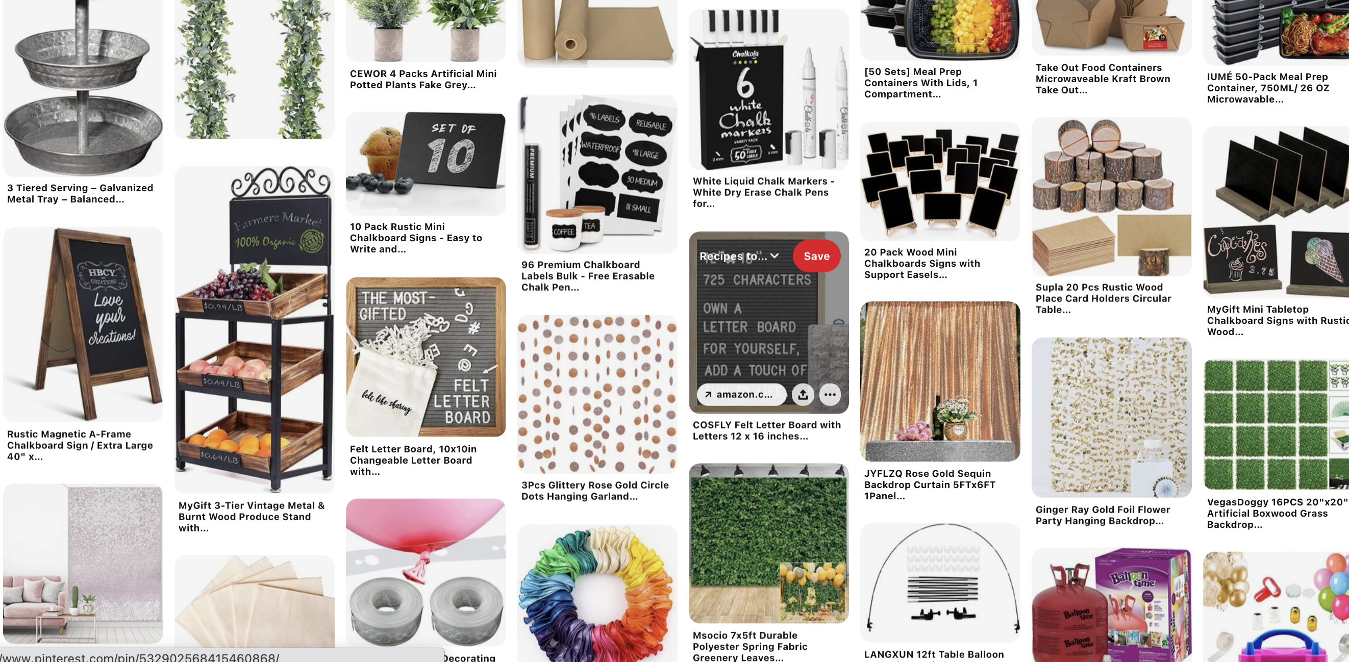 High-quality event must-have supplies pinterest board