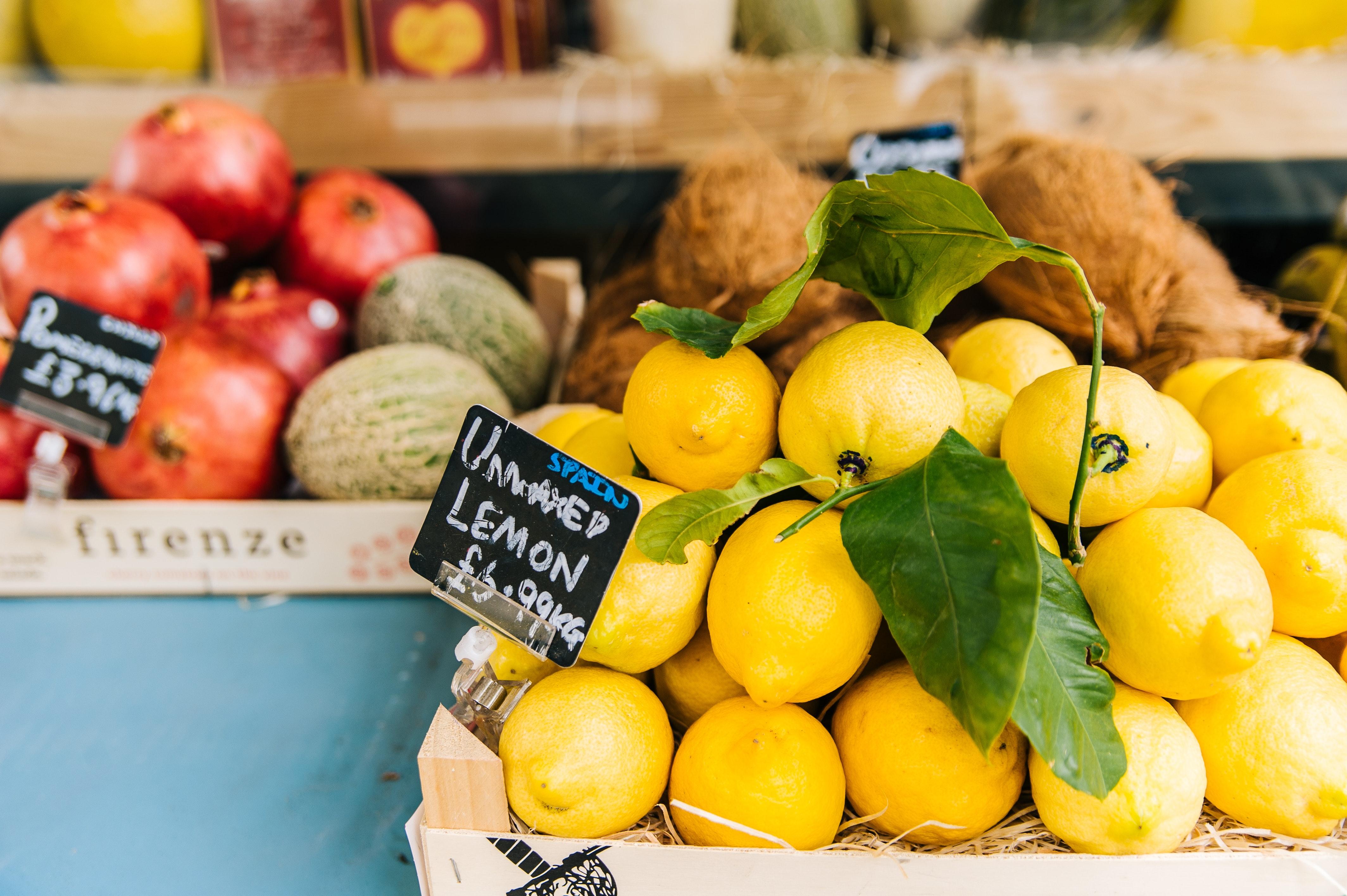 Spring Farmer's Market Fruit